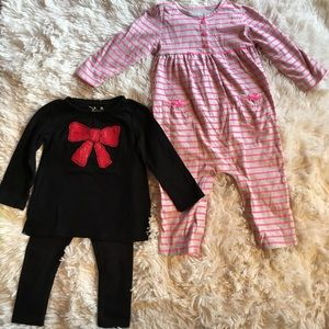 Bundle Jumping beans and carters 18M